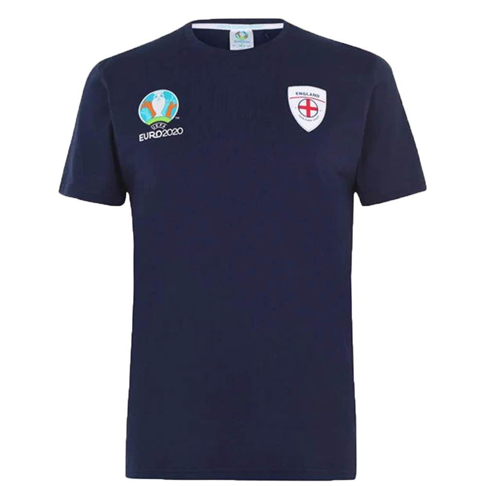 あす楽対応 幻のEURO2020デザイン イングランド代表グッズ イングランド代表 国産品 Tシャツ メンズ カットソー 半袖 OCSL EURO2020 ネイビー 爆買い新作