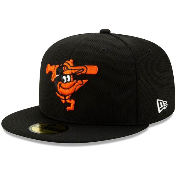 あす楽対応 MLBニューエラ2021スプリングトレーニング59FIFTY オリオールズ キャップ ニューエラ New 本日限定 Era 21nrs 59FIFTY Fitted ブラック Hat 人気激安 MLB 2021スプリングトレーニング