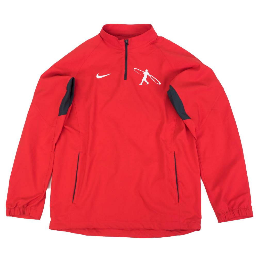 あす楽対応 ケン グリフィー ジュニア シグネチャーブランドアイテム グリフィーJr ジャケット Nike ナイキ スイングマン アウター 直営店 保障 GRIFFEY バッティング レッド