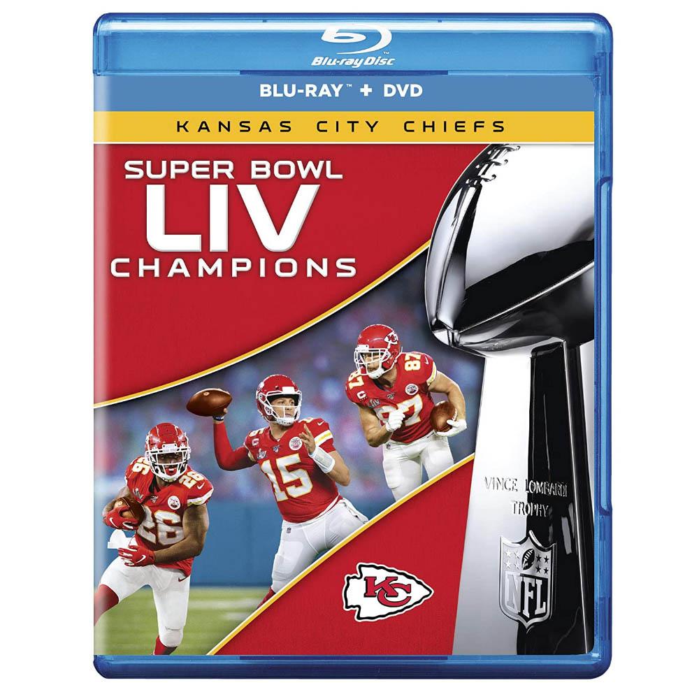 第54回スーパーボウル優勝記念ブルーレイDVDセット NFL ご注文で当日配送 チーフス グッズ 第54回スーパーボウル Super DVDセット Champions 供え LIV ブルーレイ Bowl 英語版