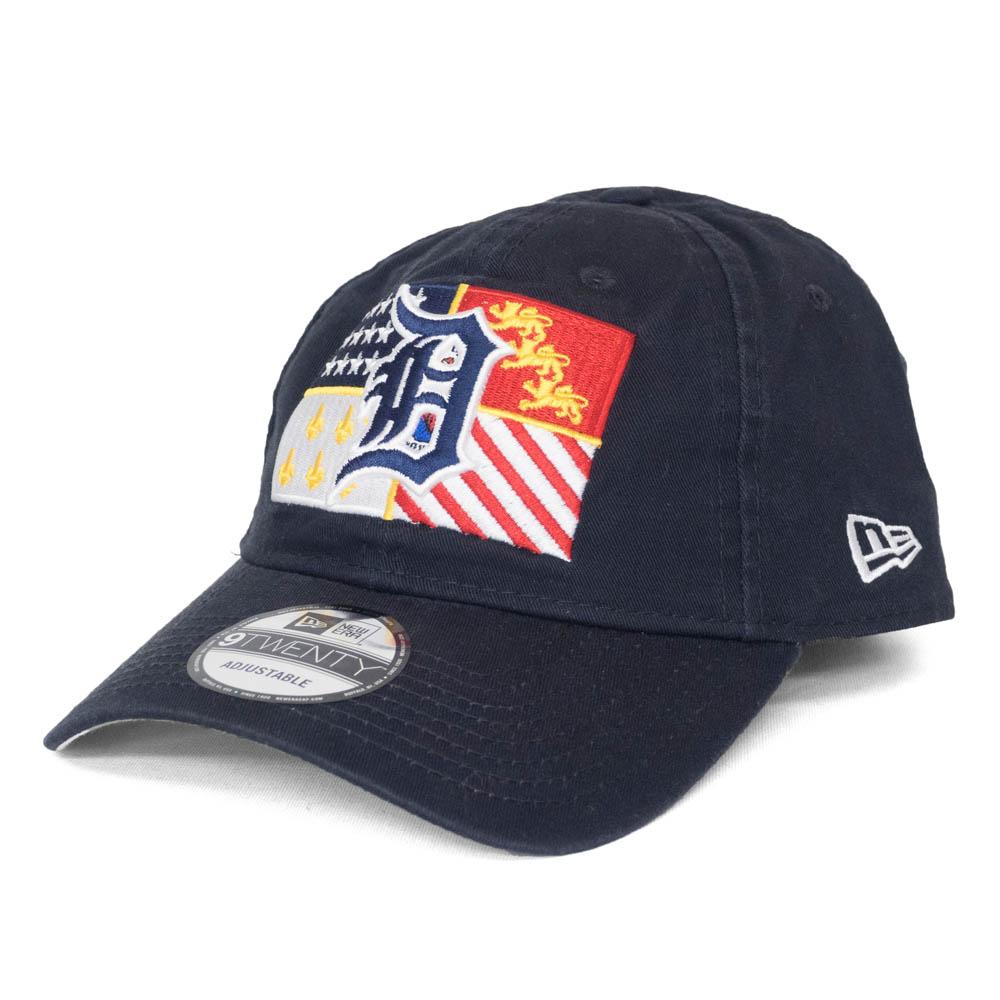MLB x ニューエラ 9TWENTY アジャスタブルCAP タイガース キャップ お歳暮 ネイビー Adjustable Flag Hat Crest 選択 New Era