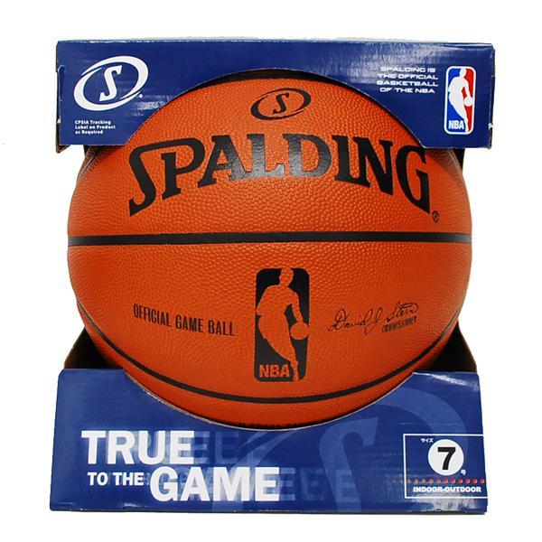 NBA basketball 7 ball Spalding /SPALDING OFFICIAL GAME BALL