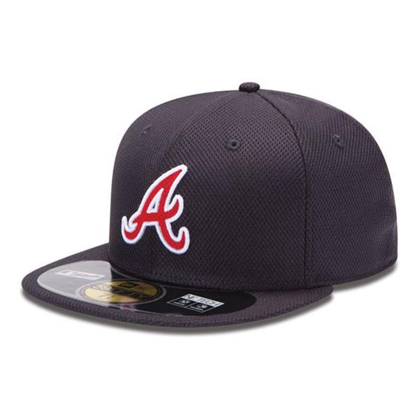 2013 MLB Atlanta Braves Authentic Diamond Era 59FIFTY BP cap (game) New Era