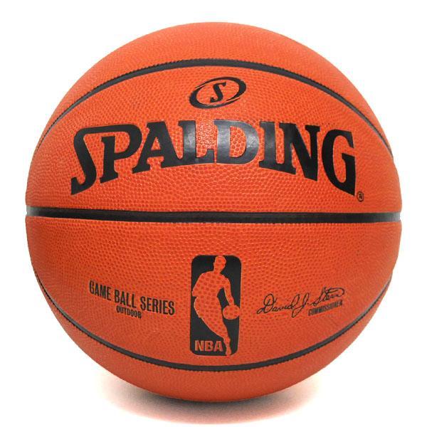 NBA game ball OUTDOOR 7 ball SPALDING