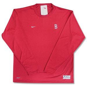 MLB Boston Red Sox L/S Training top (red) NIKE