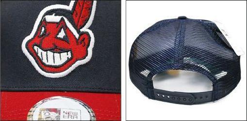 MLB Cleveland Indians Cooper's Town Trucker Mesh Cap New Era