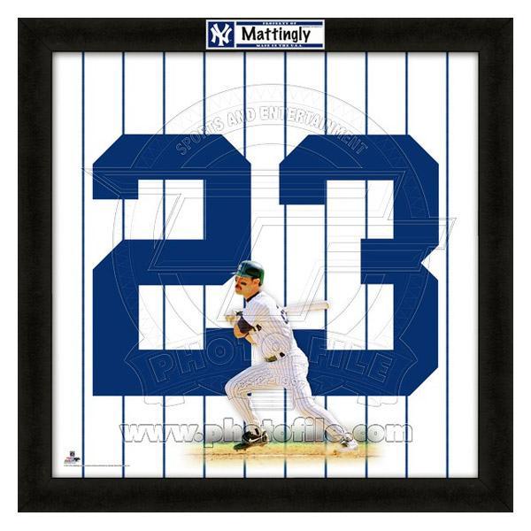 お取り寄せ MLB ヤンキース ドン・マッティングリー フォト ファイル/Photo File UNIFRAME 20 x 20 Framed Photographic