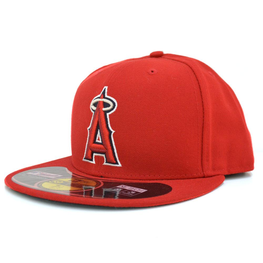 New Era MLB Los Angeles Angels Authentic Performance On-Field Cap (game)