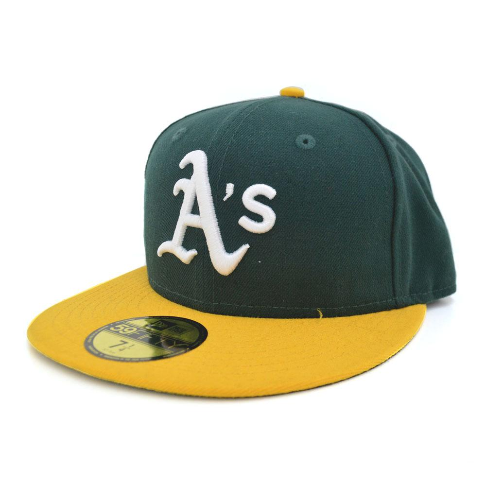 MLB Oakland Athletics Authentic Performance On-Field cap (home) New Era