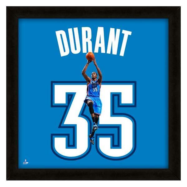 お取り寄せ NBA サンダー ケビン・デュラント フォト ファイル/Photo File UNIFRAME 20 x 20 Framed Photographic