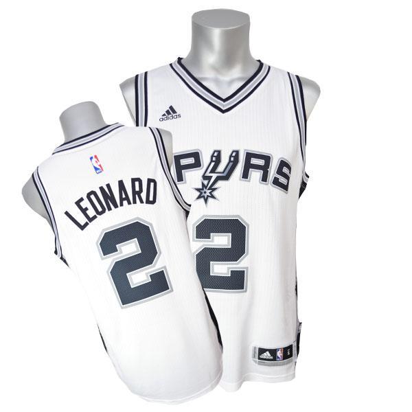 NBA スパーズ カワイ・レナード ユニフォーム ホーム Adidas【セール】