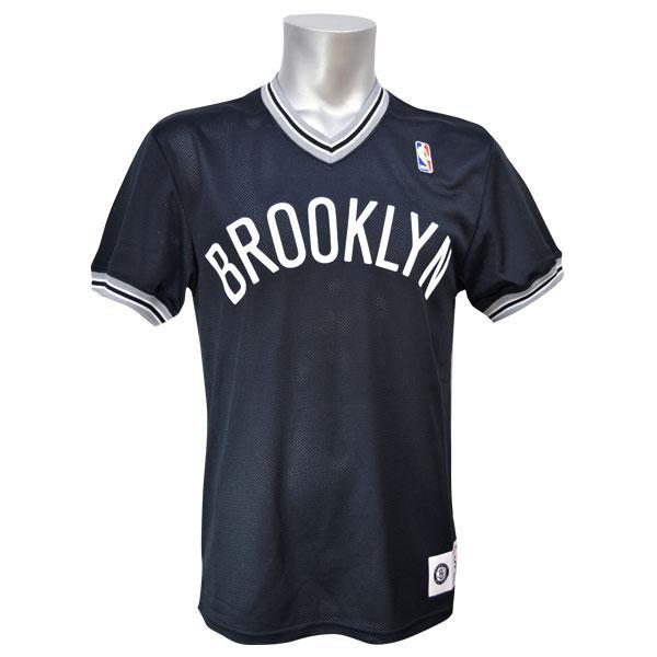 NBA ネッツ Tシャツ ブラック ミッチェルアンドネス #1 SPOT MESH ショーツ SLEEVE【1902NBAセール】