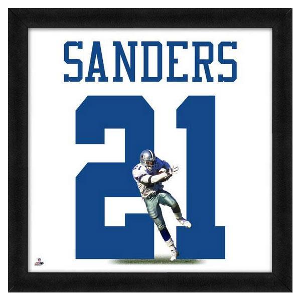 お取り寄せ NFL カウボーイズ ディオン・サンダース フォト ファイル/Photo File UNIFRAME 20 x 20 Framed Photographic