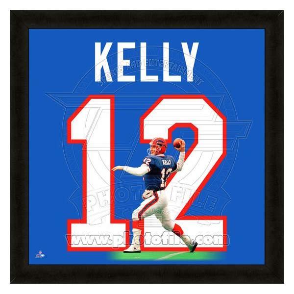 【驚きの価格が実現!】 お取り寄せ フォト NFL ビルズ ジム・ケリー フォト ファイル NFL/Photo ファイル/Photo File UNIFRAME 20 x 20 Framed Photographic, ユアーズサービス:9118e245 --- hortafacil.dominiotemporario.com