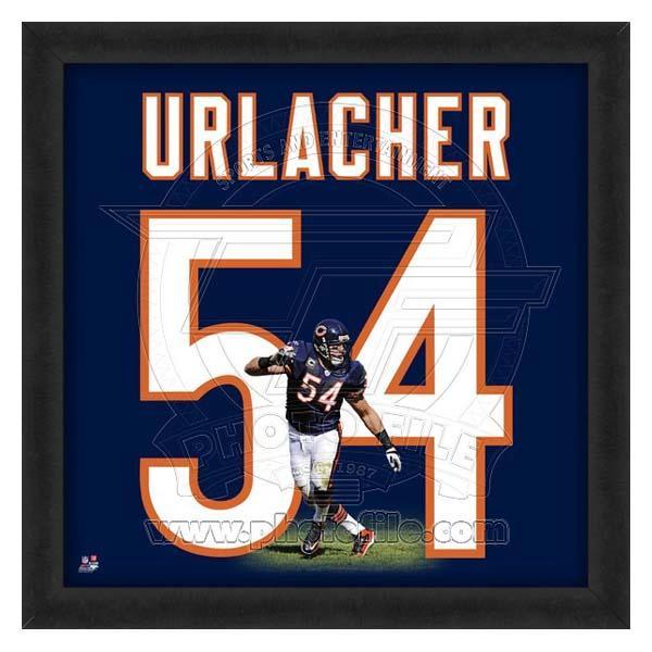 NFL ベアーズ ブライアン・アーラッカー フォト ファイル/Photo File UNIFRAME 20 x 20 Framed Photographic