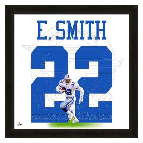 お取り寄せ NFL カウボーイズ エミット・スミス フォト ファイル/Photo File UNIFRAME 20 x 20 Framed Photographic