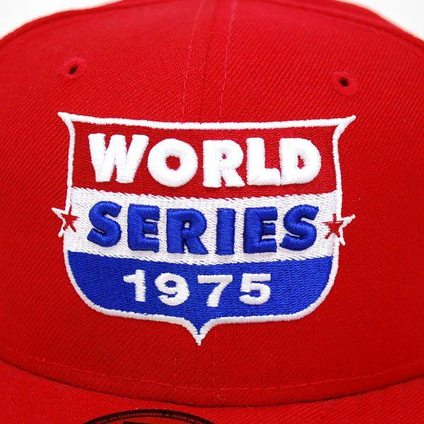 -MLB Cincinnati Reds 59 Fifty WS1975 Logo Cap New Era