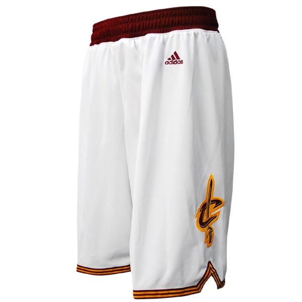 NBA Cavaliers shorts home adidas Revolution Swingman shorts