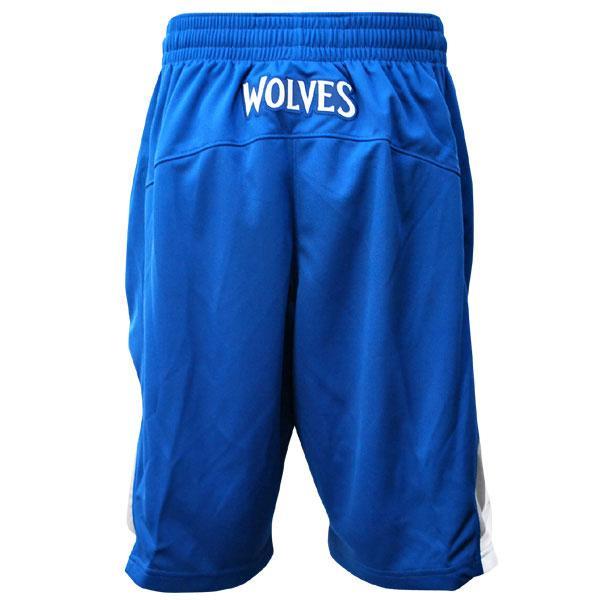 NBA Timberwolves shorts road Adidas Revolution Swingman shorts
