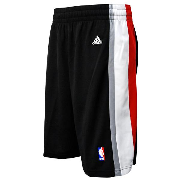 NBA Trail Blazers shorts road adidas Revolution Swingman shorts