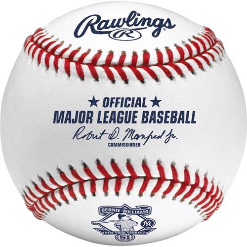MLB ヤンキース バーニー・ウィリアムス ボール ローリングス/Rawlings Commemorative Retirement Cubed Baseball【1910価格変更】