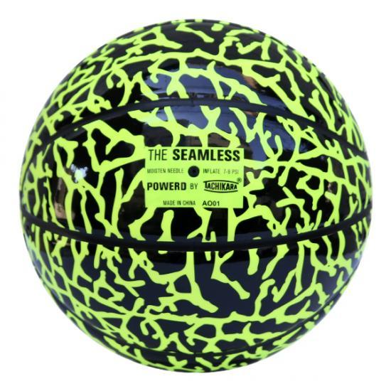 TACHIKARA basketball neon yellow / black (ELEPHANT NEON BASKETBALL)