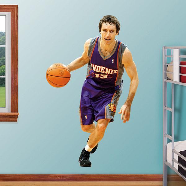 NBA Fathead Real Big sticker Suns Steve Nash