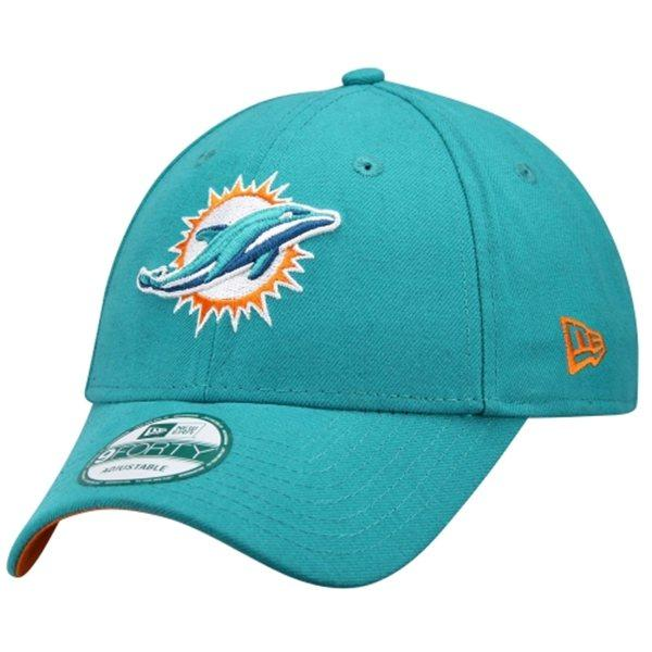 3639c25f NFL dolphins Cap / Hat new era First Down 9FORTY Structured Adjustable Cap