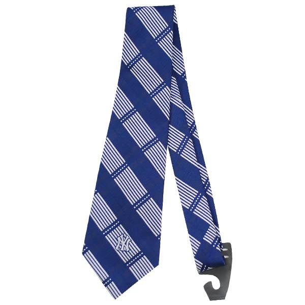 MLB ヤンキース ネクタイ Eagles Wings Tie Woven Plaid