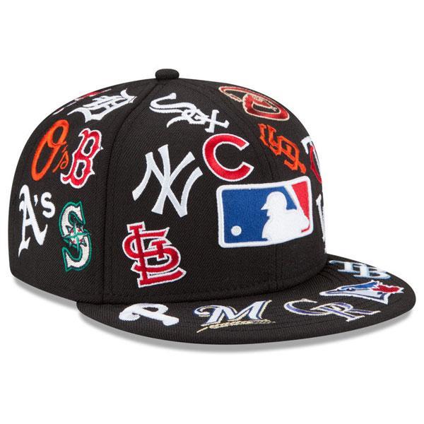 MLB Cap / Hat new era/New Era (the LIDS 20th Anniversary All Over 9FIFTY Snapback Cap)