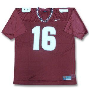 NCAA フロリダステイト・セミノールズ #16 ユニフォーム マルーン ナイキ NCAA Replica Football ユニフォーム