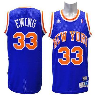 best sneakers 82a6f 15d4d NBA Knicks Patrick Ewing Jersey road adidas Soul Swingman Jersey