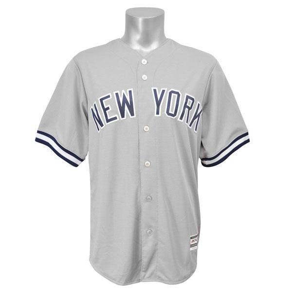 【リニューアル記念メガセール】MLB ヤンキース ユニフォーム ロード Majestic