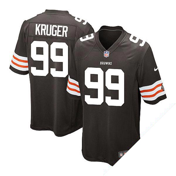 NFL ブラウンズ ポール・クルーガー ユニフォーム ブラウン ナイキ Game ユニフォーム
