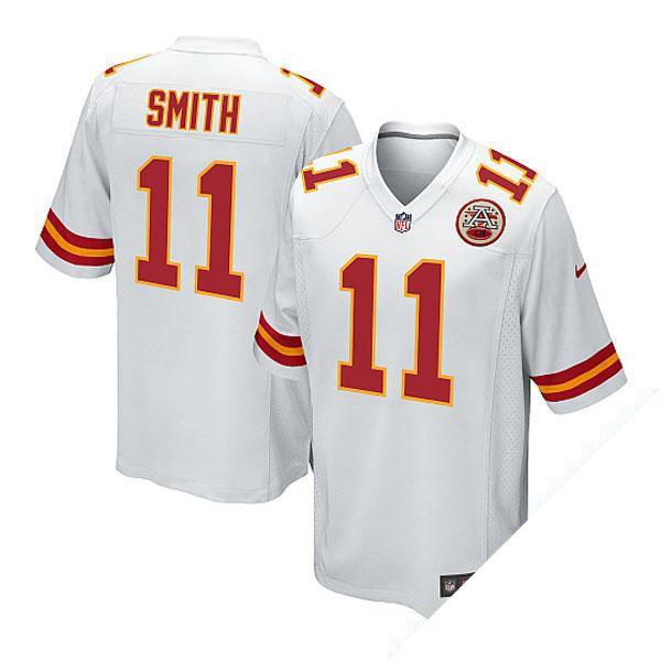 お取り寄せ NFL チーフス アレックス・スミス ユニフォーム ホワイト ナイキ Game ユニフォーム