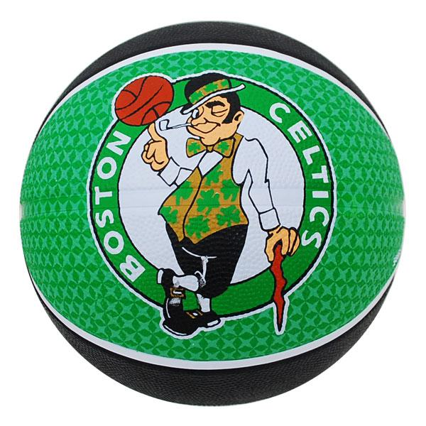 NBA Celtics basketball # 5 balls - black / green Spalding /SPALDING TEAM RUBBER BALL 2011