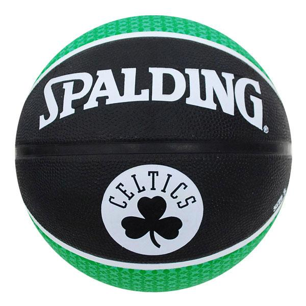 NBA Celtics basketball # 5 balls - black / green Spalding /SPALDING TEAM RUBBER BALL 2011