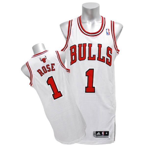 new arrivals 9fdfc bc52e Adidas NBA bulls # 1 Derrick Rose Revolution Authentic jerseys (home)