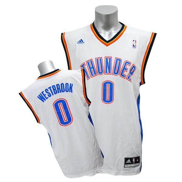 NBA sander raschel Westbrook uniform home Adidas Revolution Replica uniform
