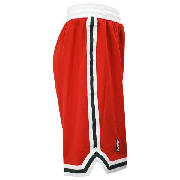 NBA Bucks shorts alternate Adidas Revolution Swingman shorts
