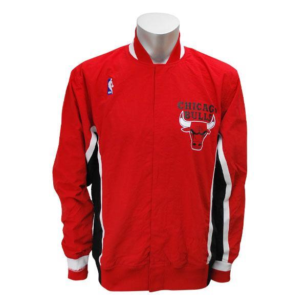 NBA ブルズ ジャケット 1992-93 ミッチェル&ネス Authentic Warm Up ジャケット【1811MNセール】