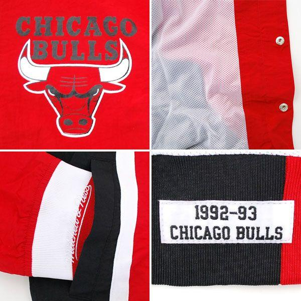 NBA Chicago Bulls Authentic Warm Up Jacket (1992-93) Mitchell &Ness