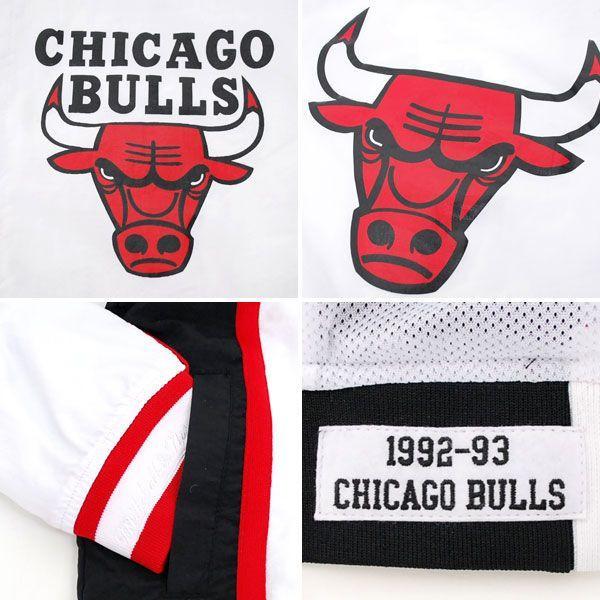 NBA bulls jacket 1992 - 93 Home Mitchell & Ness Authentic Warm Up Jacket