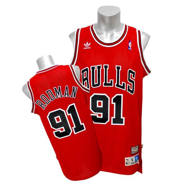 NBA ブルズ デニス・ロッドマン ユニフォーム ロード アディダス Soul Swingman ユニフォーム