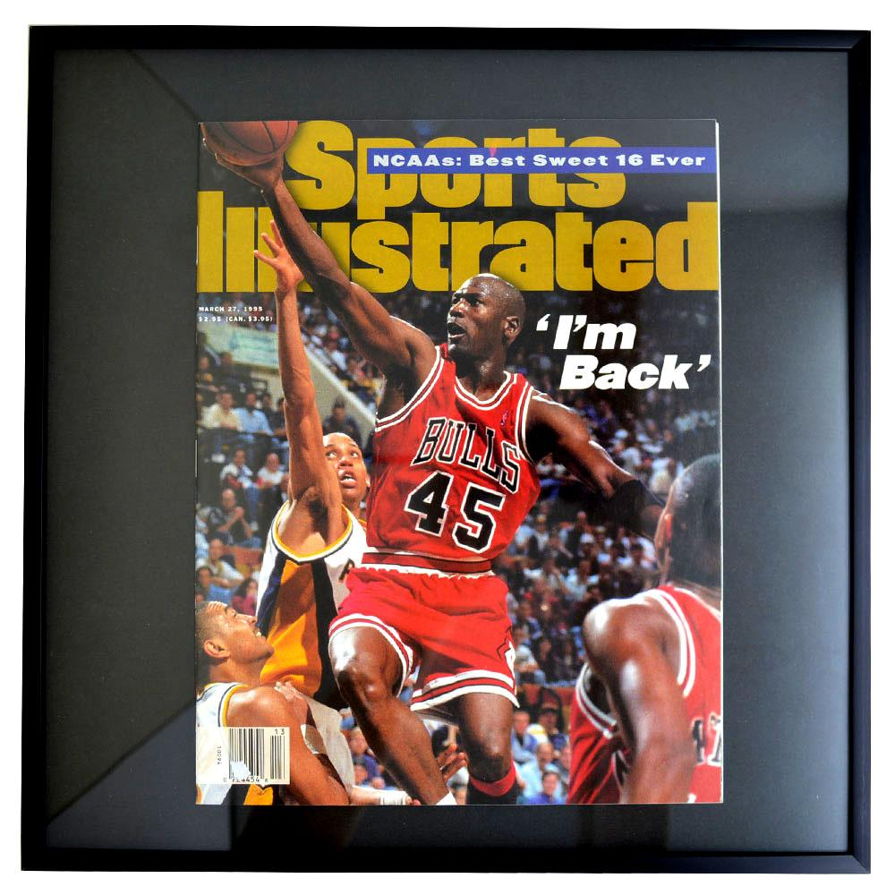 NBA ブルズ マイケル・ジョーダン フォトフレーム Photo Frame in Sports Illustrated 1995/3/27