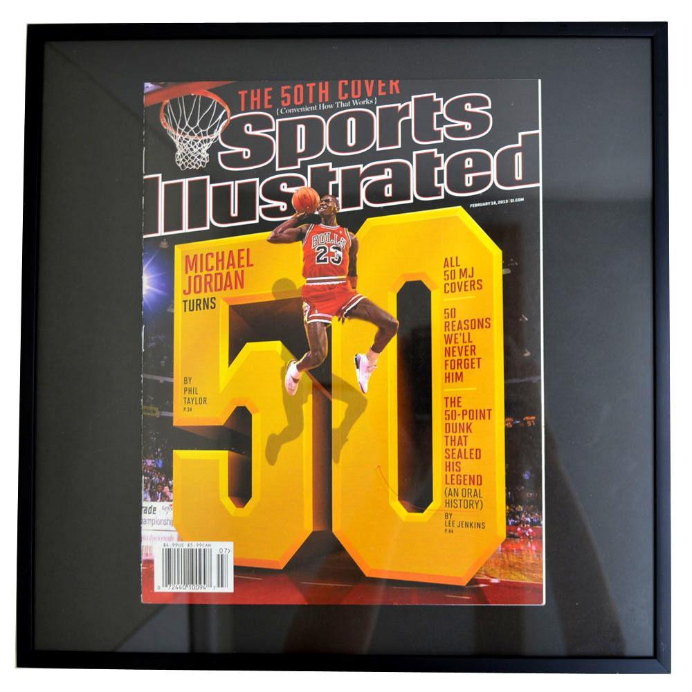 NBA ブルズ マイケル・ジョーダン フォトフレーム Photo Frame in Sports Illustrated 2013/2/18