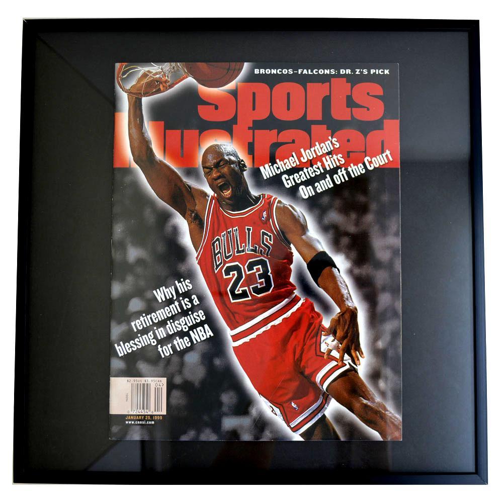 NBA ブルズ マイケル・ジョーダン フォトフレーム Photo Frame in Sports Illustrated 1999/1/25