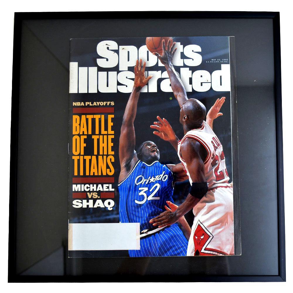 NBA ブルズ マイケル・ジョーダン フォトフレーム Photo Frame in Sports Illustrated 1995/5/22