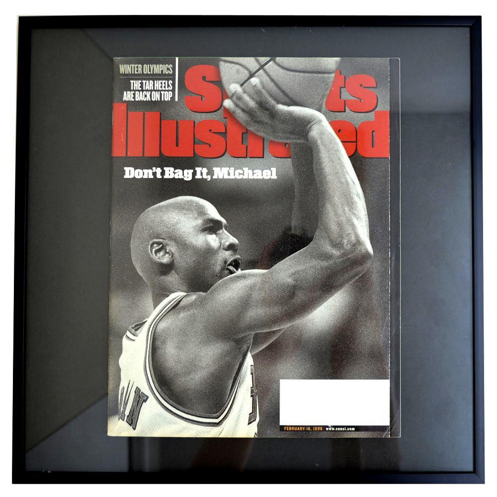 NBA ブルズ マイケル・ジョーダン フォトフレーム Photo Frame in Sports Illustrated 1998/2/16