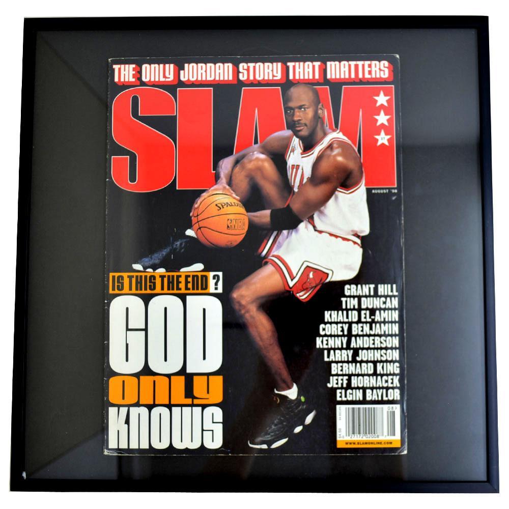 NBA ブルズ マイケル・ジョーダン フォトフレーム Photo Frame in SLAM 1998/8